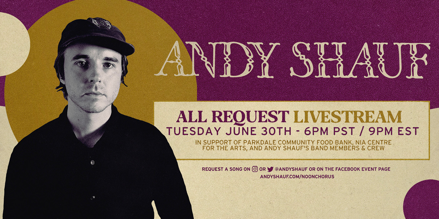 Andy Shauf: All Request Livestream