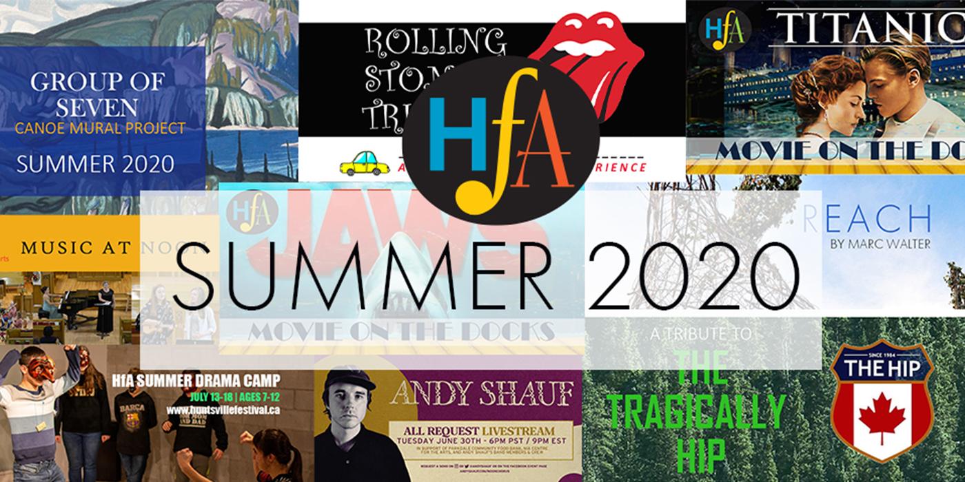 ANNOUNCING: 2020 SUMMER PROGRAMMING