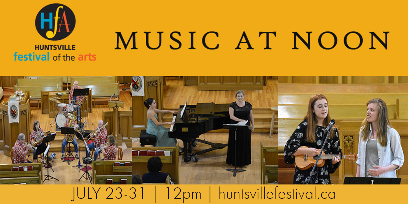 MUSIC AT NOON GOES ONLINE JULY 23-31!