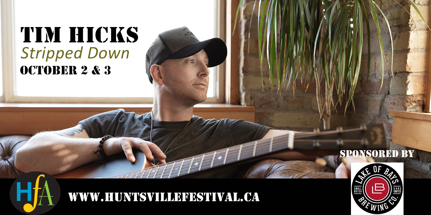 ANNOUNCING: TIM HICKS (STRIPPED DOWN)