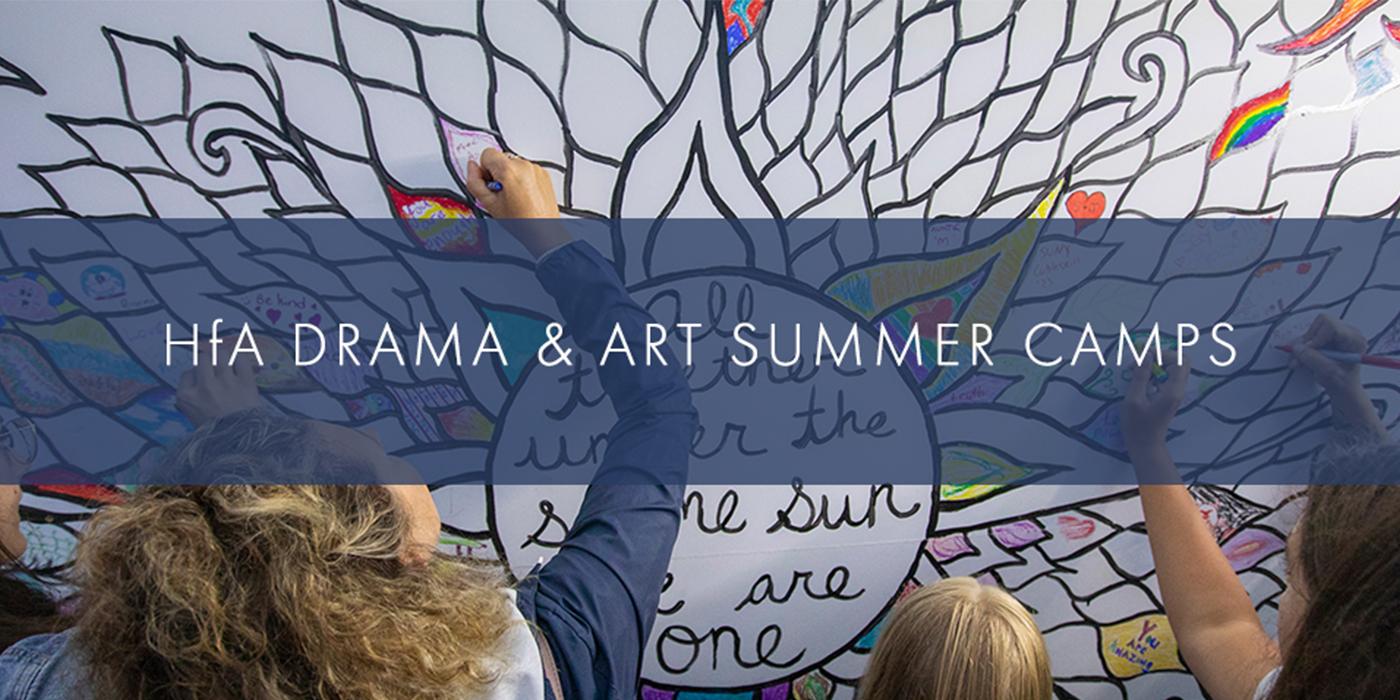 ANNOUNCING: SUMMER ARTS & DRAMA CAMPS
